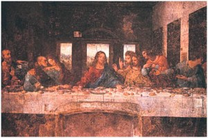 Last Supper by Leonardo DaVinci